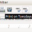 LibreOffice prints on Tuesdays (only)!