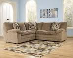 MM Furniture Renick Brown Sectional RAF Loveseat with LAF Sofa
