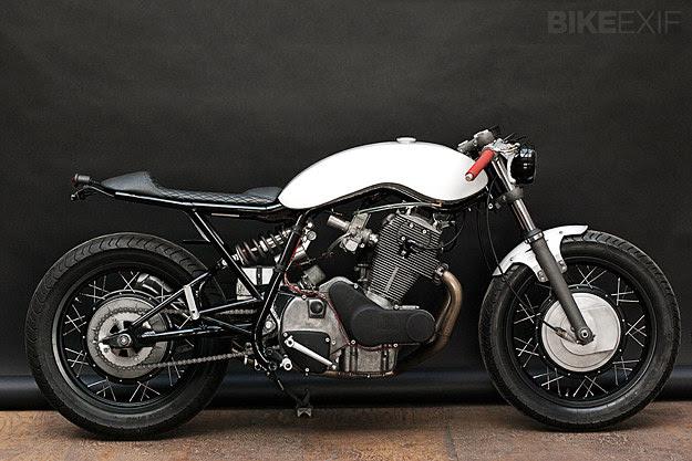 Laverda custom motorcycle