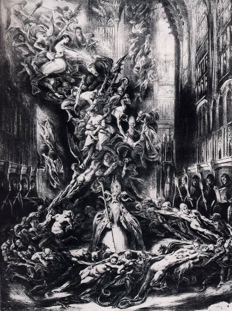 Louis Boulanger - Witch's Sabbath, 1832