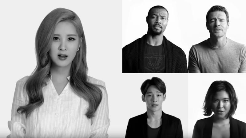 """Los artistas de SM versionan """"Imagine"""" con Katy Perry, will.i.am, David Guetta y más para UNICEF"""