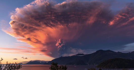 Watch a Chilean volcano erupt in a beautiful 4K timelapse [VIDEO]