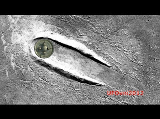 Un Ovni Aterrizo en Marte? / Giant Disc Shaped UFO Landed On Mars