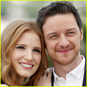 Jessica Chastain Teases Role in 'X-Men' with James McAvoy