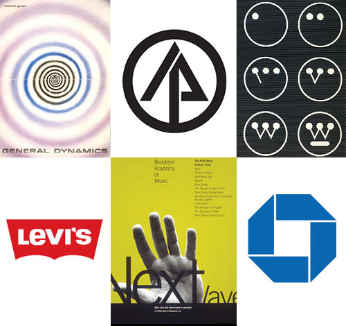 Six iconic logo designers | Logo Design Love