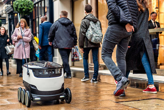 Daimler Invests In 'Last Mile' Robotic Delivery Startup
