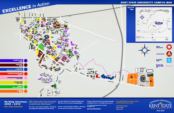 Map Of Kent State University ~ ODSEPATU Kent State University Maps on
