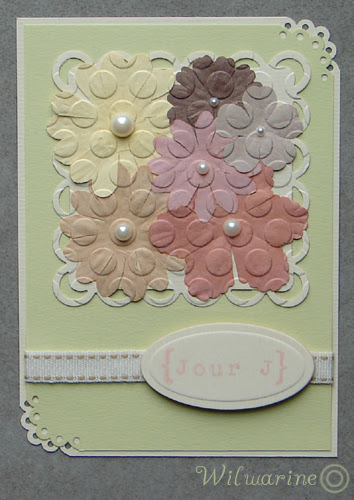 Technique Tuesday - faux pressed flowers