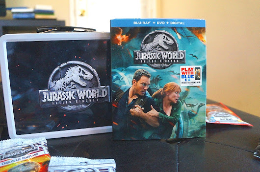 The Jurassic World: Fallen Kingdom Blu-ray Is Here - Time For A Dino Movie Night!