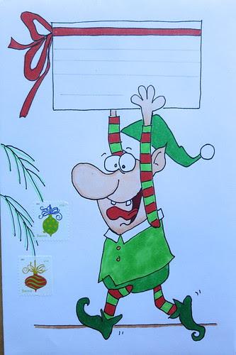 Christmas envelope #2