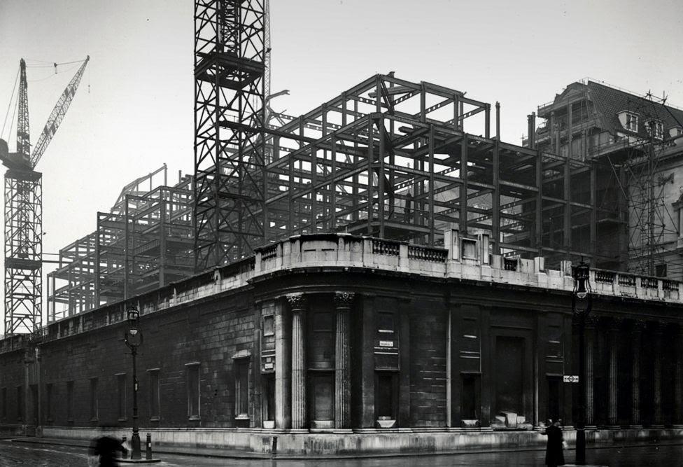 Bank of England rebuilding, 1934