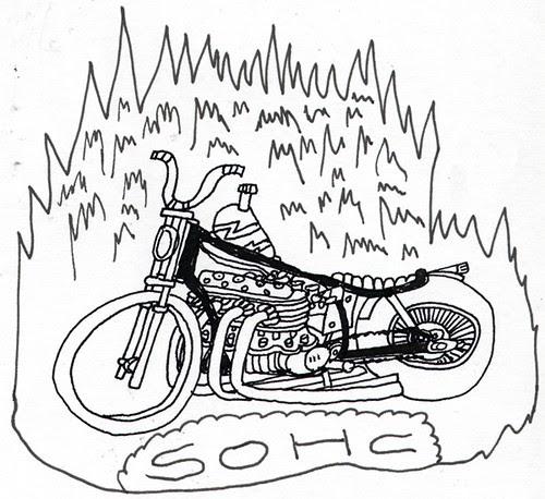 酒 レーサー (Sake Racers): sohc honda cb
