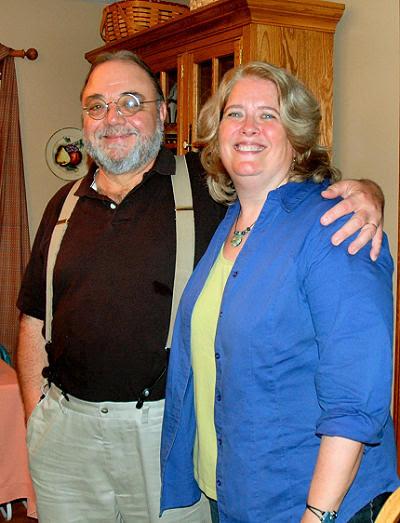 Tony Provencher and Amy Dixon-Kolar