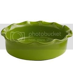 Ruffle Casserole Dish