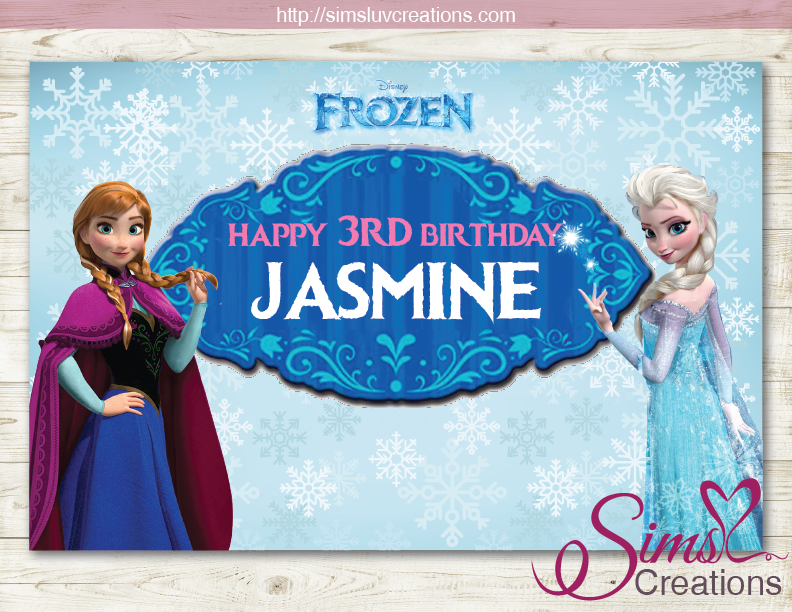 Shadow Kid Frozen Happy 3rd Birthday Images