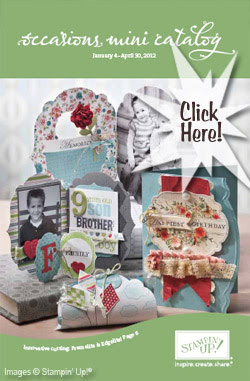 CLICK HERE for the Stampin' Up! Occasions 2012 Mini Catalog PDF