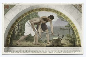 Labor, Mural, Library of Congr... Digital ID: 73812. New York Public Library