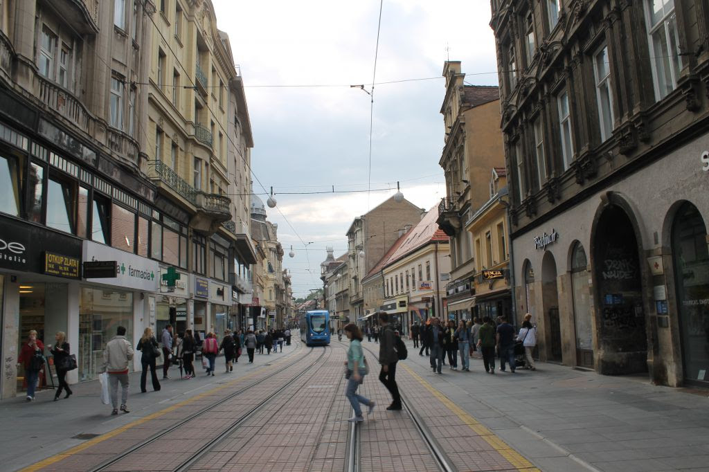 Ilica Street Shopping Zagreb Croatia