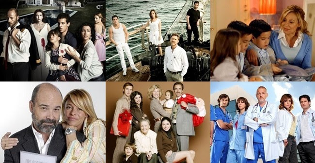 Resultado de imagen de Series televisivas españolas