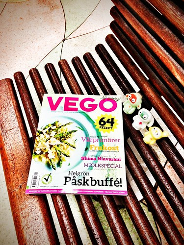 premiere - sweden's first vegan food magazine!