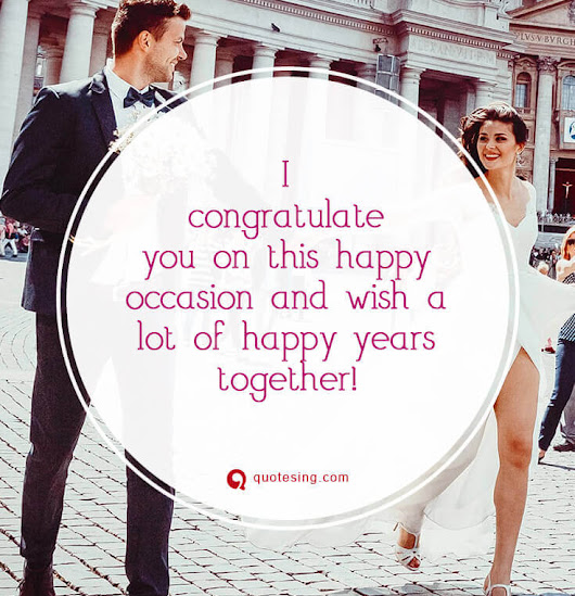 50 happy wedding wishes, quotes, messages, cards and images - Quotesing