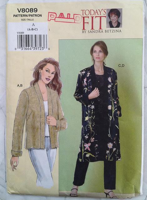 Vogue8089 jacket