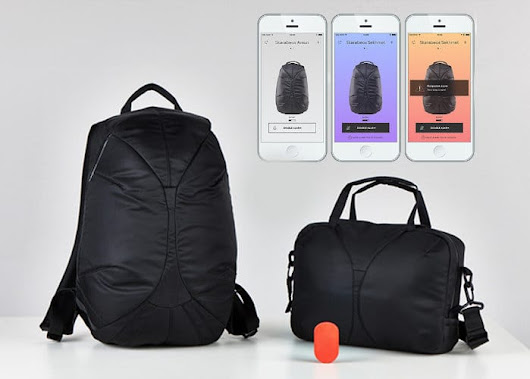 Skarabeos Smart Everyday Backpack And Anti-Theft Bags - Geeky Gadgets