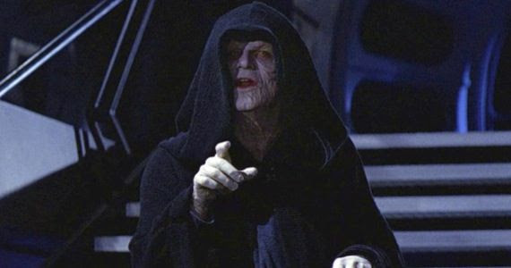 Image result for Star Wars 4 emperor palpatine
