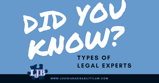 What types of expert witnesses testify during disabling injury cases?