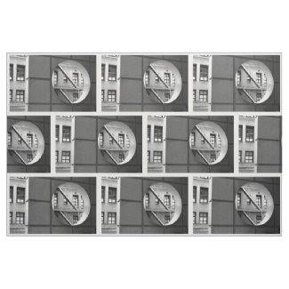 Geometric Architecture Photo Fabric