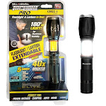 As Seen on TV Bell & Howell Tac Light Elite Led Flashlight, Black