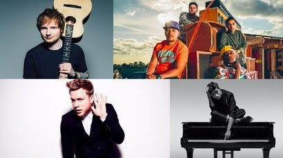 X Factor: Ed Sheeran, Rudimental, Olly Murs and Nathan Sykes to perform