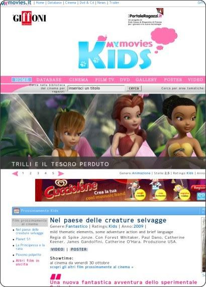 http://kids.mymovies.it/