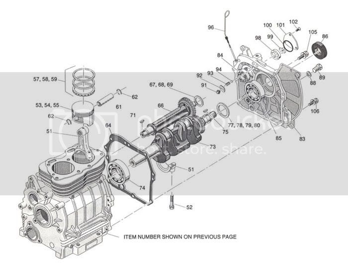 ezgo golf cart engine diagram image 3