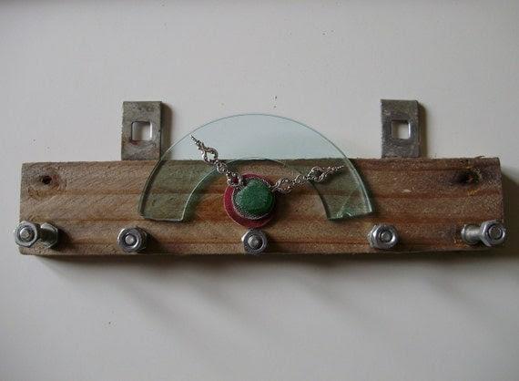 Industrial key or jewelry rack