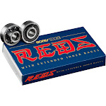 Bones Race Reds Built In Spacer Bearings
