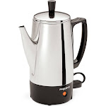 Presto 6-Cup Stainless Steel Coffee Maker, Silver