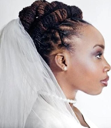 wedding hairstyles locs best wedding hairs. Black Bedroom Furniture Sets. Home Design Ideas