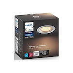 Philips Hue White Ambiance Dimmable LED Smart Retrofit Recessed Downlight - White 801480