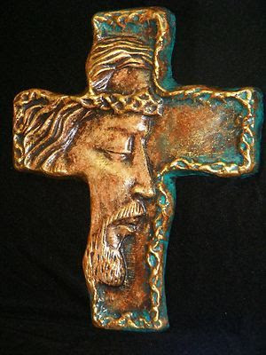 Cross Jesus Christ Religious Crucifix Wall Decor Christian Bible Faith Art | eBay