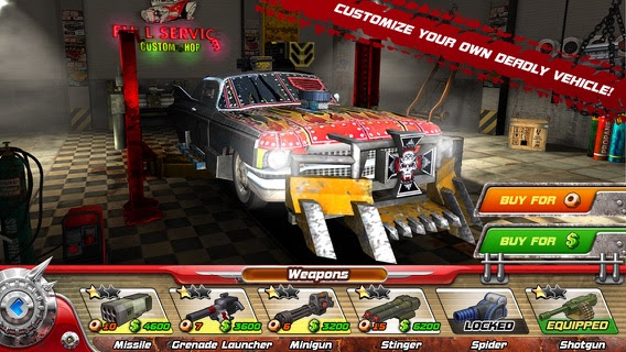 Death Tour - Racing Action Game Screenshot