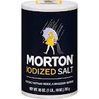 Morton Iodized Salt - 26 oz canister