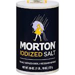 Morton Salt, Iodized - 26 oz