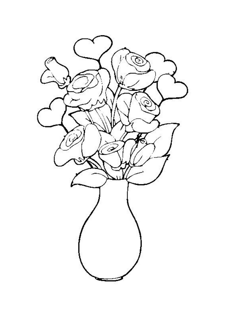 Step By Step Flower Pot Drawing Clip Art Library