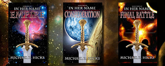 Win 3 Autographed Novels by Michael R.Hicks - Dedicated to You!