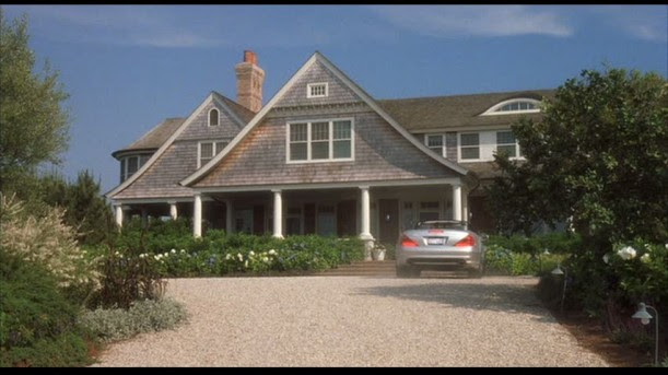 Something's Gotta Give Hamptons beach house exterior