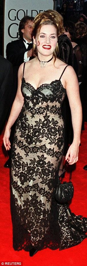 Kate Winslet é uma fã de água potável e comer uma dieta equilibrada