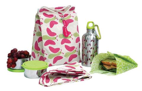 Kids Konserve Butterfly Go Wild Waste- Free Lunch Kit