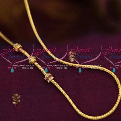 Simple enough for daily wear Thali kodi usualy worn by