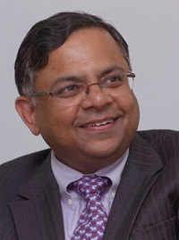 TCS CEO Chandrasekaran